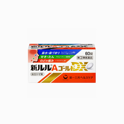 [DAIICHI] 신 루루 A 골드 DX 30정, 감기약