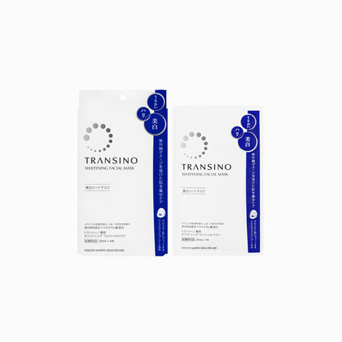 재팬픽-[DAIICHI] 트란시노 화이트닝 4매입 마스크팩