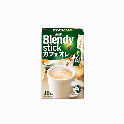 japantop-[AGF] 브랜디 스틱커피 카페오레 10개입