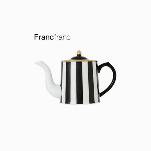 japantop-[FRANCFRANC] 프랑프랑 아도무 주전자 450ml 스트라이프
