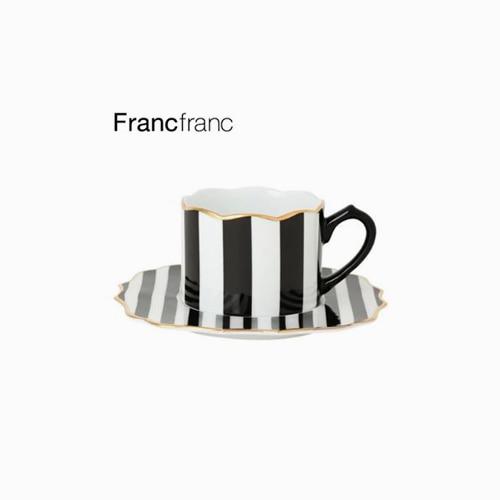 japantop-[FRANCFRANC] 프랑프랑 아도무 컵&받침 세트 스트라이프