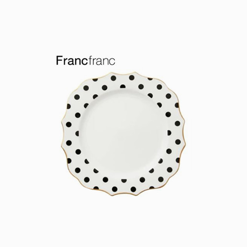 japantop-[FRANCFRANC] 프랑프랑 아도무 플레이트 도트