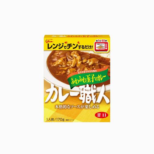 japantop-[GLICO] 쇼쿠닌 계란 카레 170g