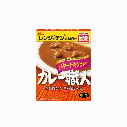 japantop-[GLICO] 쇼쿠닌 버터 치킨 카레 170g