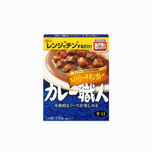 japantop-[GLICO] 쇼쿠닌 스파이시 치킨 카레 170g
