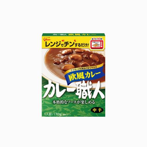 japantop-[GLICO] 쇼쿠닌 유럽풍 카레 170g