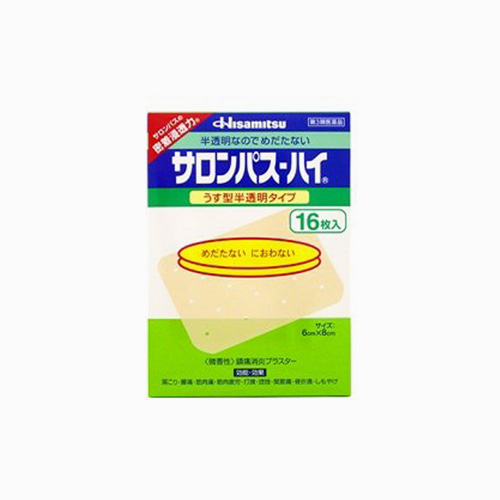 japantop-[HISAMITSU] 샤론파스 하이 16매