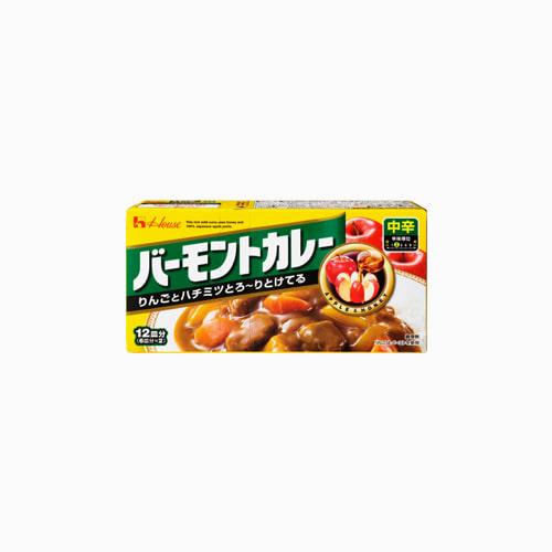 japantop-[HOUSE] 바몬드카레 중간매운맛 230g