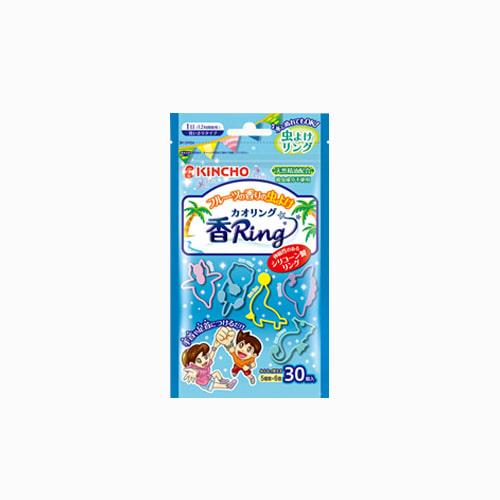 japantop-[KINCHO] 킨쵸 무시요케 벌레 퇴지 패션 향기 반지 30개입 블루