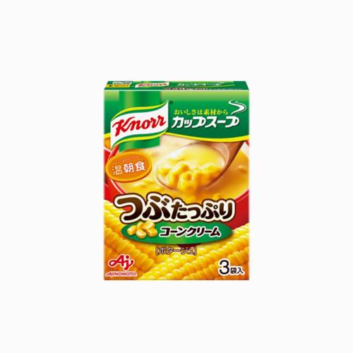 japantop-[KNORR] 알맹이가득 콘 크림