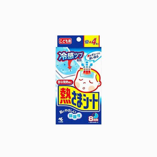japantop-[KOBAYASHI] 고바야시 열냉각시트, 열내리젤시트 유아용 1갑 16매