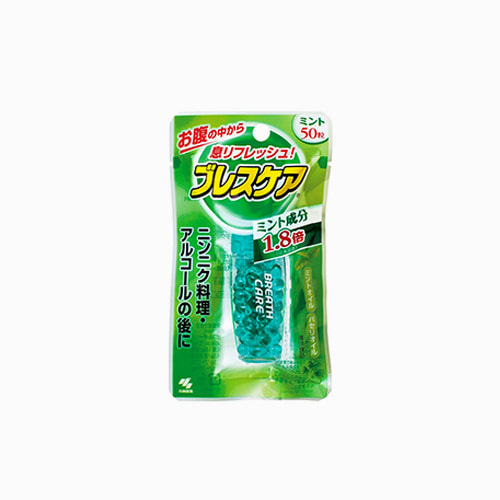 재팬픽-[KOBAYASHI] 브레스케어 스피드 삼켜먹는 30알, 구취제거제