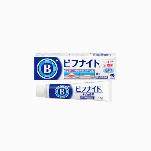 japantop-[KOBAYASHI] 비후나이트 S 여드름 관리 아크네 크림 18g