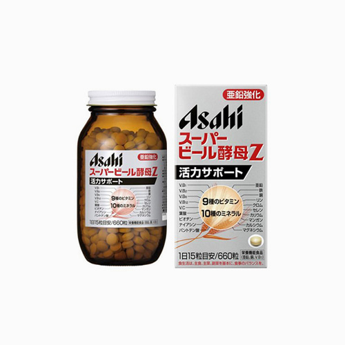japantop-[ASASHI] 아사히 슈퍼 맥주효모 Z 영양제 660정