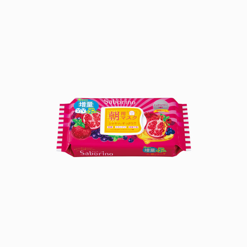 japantop-[BCL] 사보리노 아침용 마스크팩 믹스베리 향 28매