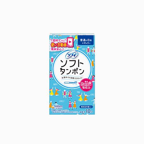 japantop-[UNICHARM] 유니참 소피 생리대 소프트탐폰 레귤러 블루 10개입