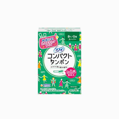 japantop-[UNICHARM] 유니참 소피 생리대 소프트탐폰 슈퍼 그린 9개입