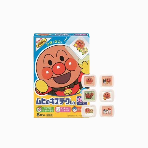 japantop-[MUHI] 호빵맨 무히 키즈테이프 대형 8매