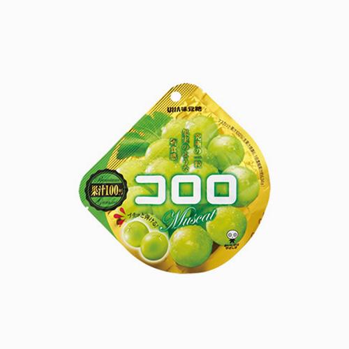 재팬픽-[UHA 미각당] 쫄깃한 젤리 코로로 청포도맛