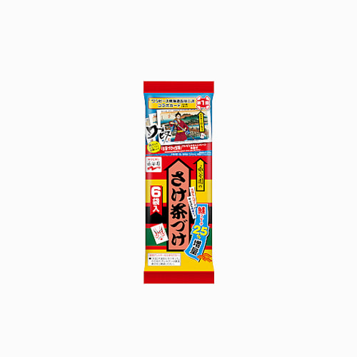 japantop-[NAGATANIEN] 오차츠케 사케연어 6봉지