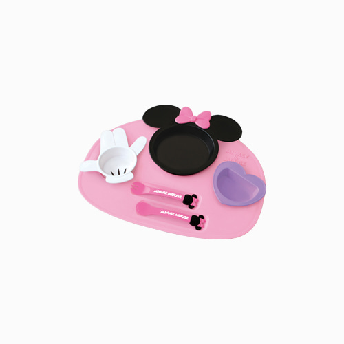 japantop-[NISHIKI KASEI] 미니 마우스 식판 6P