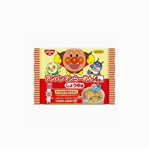 japantop-[NISSIN] 닛신 호빵맨 4개입 간장맛 라면