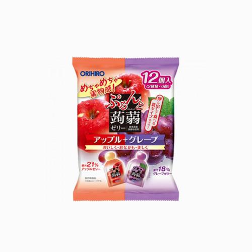 japantop-[ORIHIRO] 곤약젤리 파우치 믹스 12개입