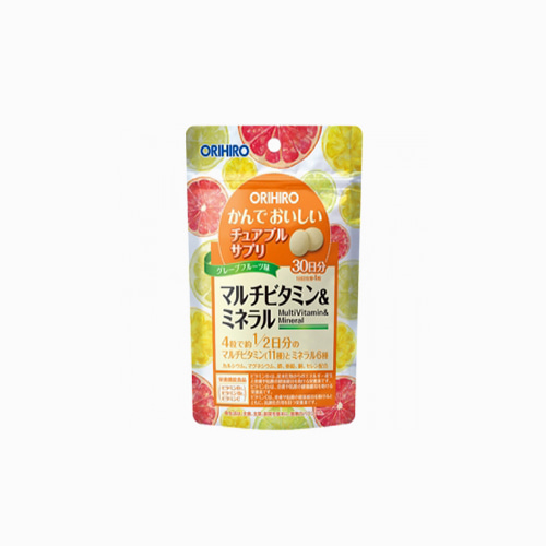 japantop-[ORIHIRO] 오리히로 씹어먹는 멀티 비타민&미네랄