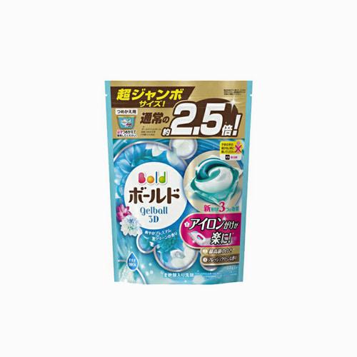 japantop-[P&G] 보르도 캡슐세제 젤볼 블루 퓨어클린향 리필 44개입