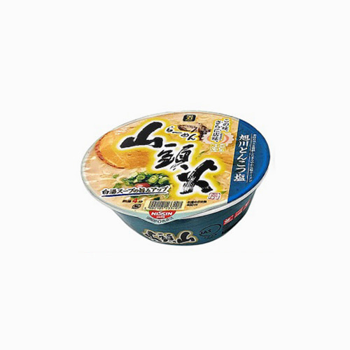 japantop-[SEVEN-ELEVEN] 프리미엄 골드 산토카 아사히카와 돈코쓰시오 맛 컵라면