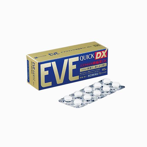 재팬픽-[SSP] EVE QUICK DX, 이브 퀵 DX 40정, 종합진통제
