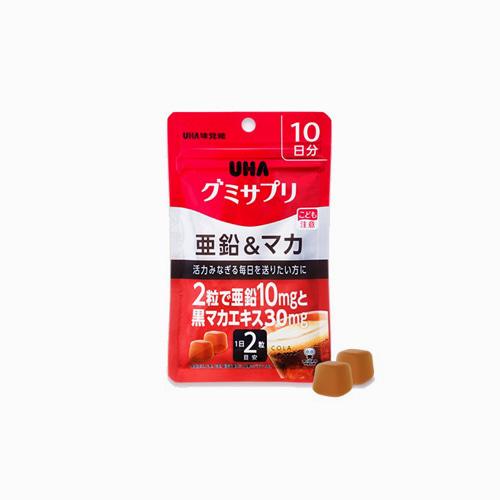 japantop-[UHA] 서플리 젤리 10일분 아연 & 마카