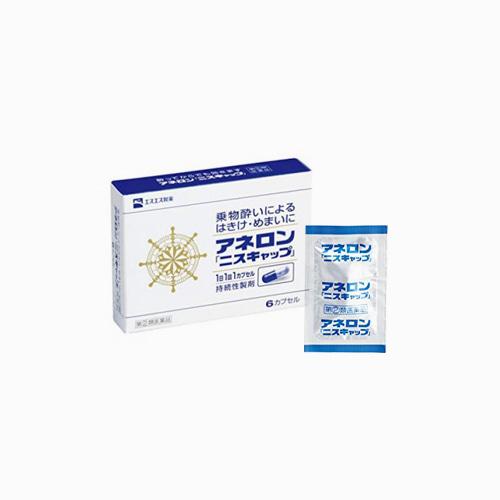 재팬픽-[SSP] 아네론 니스캡 6캡슐, 멀미약