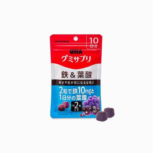 japantop-[UHA] 서플리 젤리 10일분 철 & 엽산