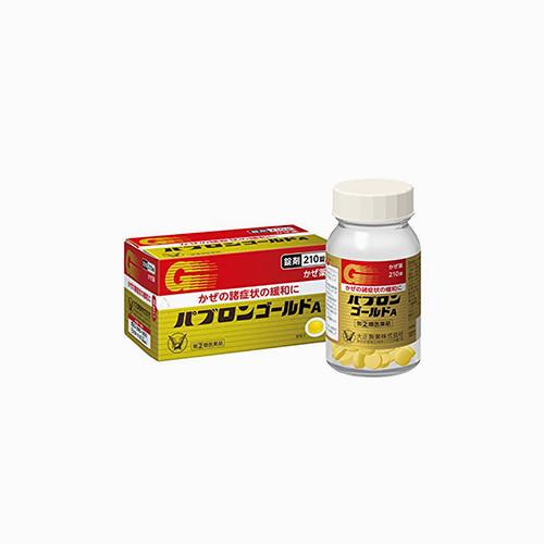japantop-[TAISHO] 다이쇼 파브론 골드 A 210정, 종합 감기약
