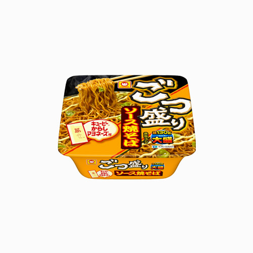 japantop-[TOYO SUISAN] 마루짱세이멘 고츠모리 소스 야키소바 곱배기 컵라면