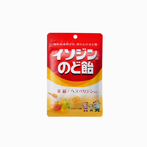 재팬픽-[UHA 미각당] 상쾌한 목캔디 꿀 금귤맛 81g