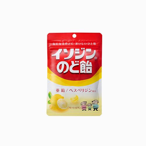 재팬픽-[UHA 미각당] 상쾌한 목캔디 신선한 레몬맛 81g