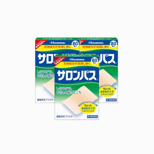 japantop-[HISAMITSU] 샤론파스 80매, 3개 세트